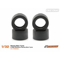 SC-4757AS25 Neum. Goma  19x10mm Racing Slick
