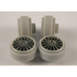 SI-W15808225P llantas Plastico 15,8x8,5mm